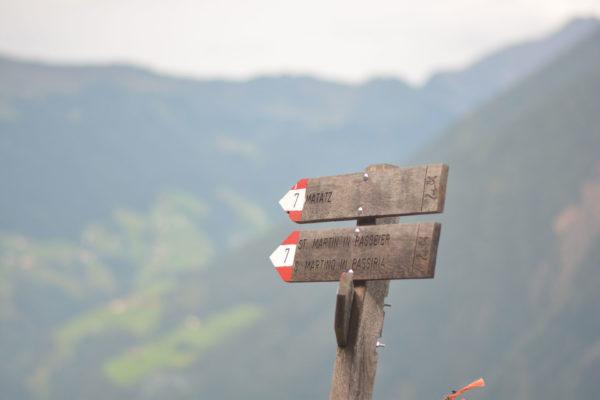 Berggasthof Valtelehof - Übernachtung für Meraner Höhenweg